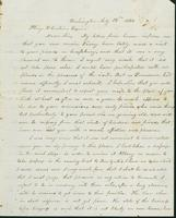 Letter to Pliny Corbin, July 13, 1842