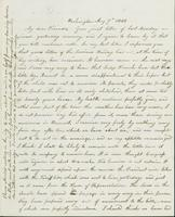 Letter to Nathan and Mary Hill, August 7, 1842