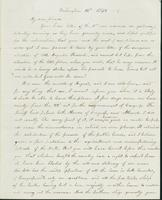 Letter to Nathan and Mary Hill, August 14, 1842
