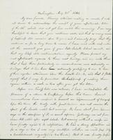 Letter to Nathan and Mary Hill, August 21, 1842