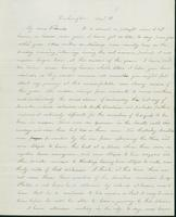 Letter to Nathan and Mary Hill, December 11, 1842