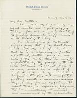 Letter to Mrs. C.G. (Ann) Austin, March  30, 1932