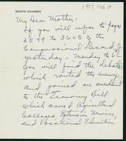 Letter to Mrs. C.G. (Ann) Austin, February  07, 1933