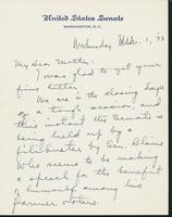 Letter to Mrs. C.G. (Ann) Austin, March  01, 1933