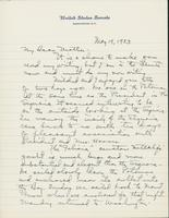 Letter to Mrs. C.G. (Ann) Austin, May  19, 1933