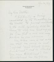 Letter to Mrs. C.G. (Ann) Austin, April  30, 1934