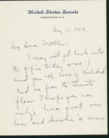 Letter to Mrs. C.G. (Ann) Austin, May  11, 1934