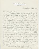 Letter to Mrs. C.G. (Ann) Austin, April  15, 1935