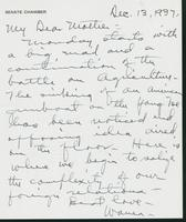 Letter to Mrs. C.G. (Ann) Austin, December 13, 1937