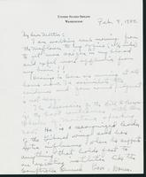 Letter to Mrs. C.G. (Ann) Austin, February 8, 1938