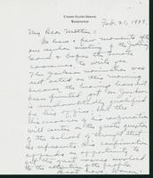 Letter to Mrs. C.G. (Ann) Austin, February 21, 1938