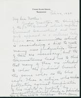 Letter to Mrs. C.G. (Ann) Austin, February 24, 1938
