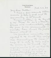 Letter to Mrs. C.G. (Ann) Austin, February 28, 1938