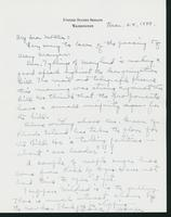 Letter to Mrs. C.G. (Ann) Austin, March 28, 1938