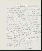Letter to Mrs. C.G. (Ann) Austin, April 1, 1938