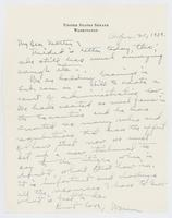 Letter to Mrs. C.G. (Ann) Austin, April 21, 1938
