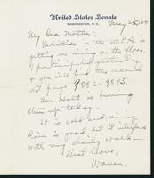 Letter to Mrs. C.G. (Ann) Austin, May 20, 1938