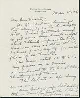 Letter to Mrs. C.G. (Ann) Austin, May 26, 1938