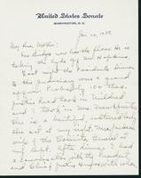 Letter to Mrs. C.G. (Ann) Austin, January 20, 1939