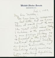 Letter to Mrs. C.G. (Ann) Austin, February 1, 1939