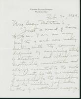 Letter to Mrs. C.G. (Ann) Austin, February 2, 1939