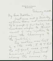 Letter to Mrs. C.G. (Ann) Austin, February 10, 1939