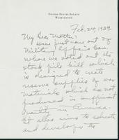 Letter to Mrs. C.G. (Ann) Austin, February 24, 1939