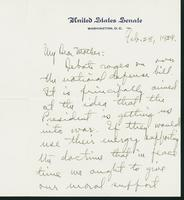 Letter to Mrs. C.G. (Ann) Austin, February 28, 1939