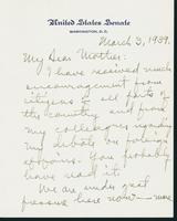 Letter to Mrs. C.G. (Ann) Austin, March 3, 1939