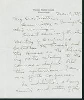 Letter to Mrs. C.G. (Ann) Austin, March 9, 1939