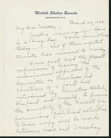 Letter to Mrs. C.G. (Ann) Austin, March 24, 1939