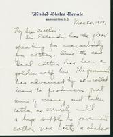 Letter to Mrs. C.G. (Ann) Austin, March 30, 1939