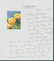 Letter to Mrs. C.G. (Ann) Austin, April 17, 1939