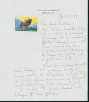 Letter to Mrs. C.G. (Ann) Austin, April 19, 1939