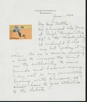 Letter to Mrs. C.G. (Ann) Austin, June 1, 1939