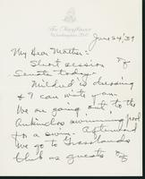 Letter to Mrs. C.G. (Ann) Austin, June 24, 1939