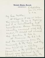 Letter to Mrs. C.G. (Ann) Austin, January 24, 1940