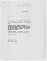 Letter to Mrs. C.G. (Ann) Austin, January  14, 1933