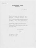 Letter to Mrs. C.G. (Ann) Austin, March  16, 1933