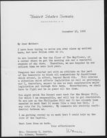 Letter to Mrs. C.G. (Ann) Austin, December  10, 1932