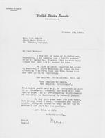 Letter to Mrs. C.G. (Ann) Austin, October  18, 1933