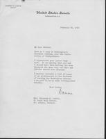 Letter to Mrs. C.G. (Ann) Austin, February 23, 1935