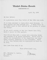 Letter to Mrs. C.G. (Ann) Austin, April  23, 1935