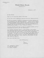 Letter to Mrs. C.G. (Ann) Austin, February 1, 1937