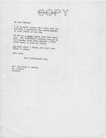 Letter to Mrs. C.G. (Ann) Austin, February 8, 1937