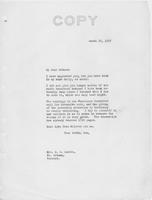 Letter to Mrs. C.G. (Ann) Austin, March 25, 1937