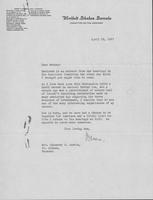 Letter to Mrs. C.G. (Ann) Austin, April 23, 1937