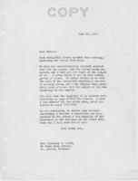 Letter to Mrs. C.G. (Ann) Austin, June 24, 1937