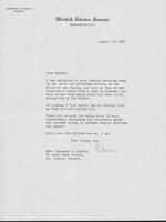 Letter to Mrs. C.G. (Ann) Austin, August 13, 1937