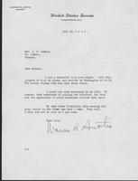 Letter to Mrs. C.G. (Ann) Austin, July 29, 1940